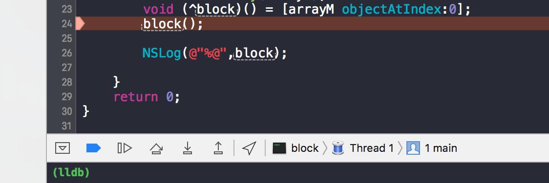 Block在ARC和MRC下的使用分析
