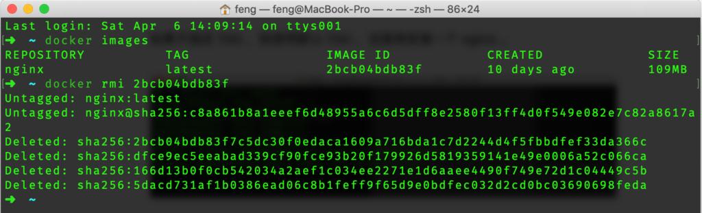 Mac下Docker的安装与使用